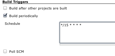 Build Periodically